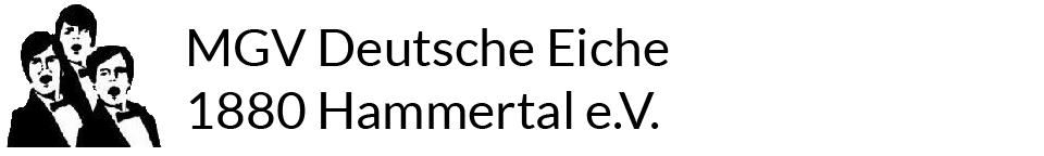 MGV Deutsche Eiche 1880 Hammertal e.V. Logo